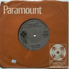 Discos de vinilo: LEE MARVIN. WAND RIN STAR/ CLINT EASTWOOD. I TALK TO THE TREES. PARAMOUNT, UK 1969 SINGLE. Lote 222084582