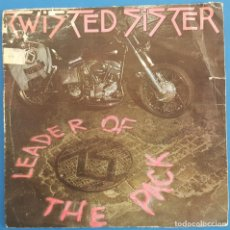 Discos de vinilo: SINGLE / TWISTED SISTER / LEADER OF THE PACK / ATLANTIC 78 9478 7 / 1985. Lote 222085387