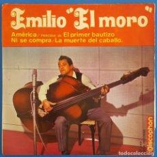 Discos de vinilo: EP / EMILIO EL MORO / AMERICA / DISCOPHON 27.400 / 1964. Lote 222086298