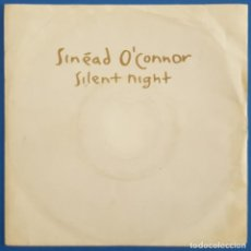 Discos de vinilo: SINGLE / SINEAD O'CONNOR / SILENT NIGHT / ENSIGN - 32 3839 7 - ENY 652, CHYSALIS / 1991. Lote 222086560