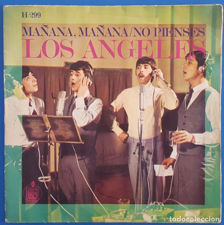 SINGLE / LOS ÁNGELES / MAÑANA, MAÑANA / HISPAVOX H-299 / 1968 (Música - Discos - Singles Vinilo - Grupos Españoles 50 y 60)