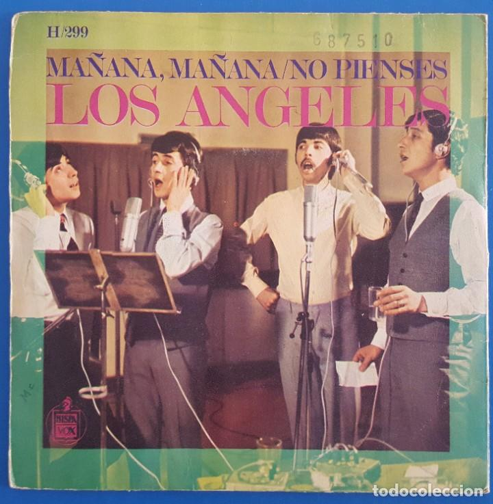 Discos de vinilo: SINGLE / LOS ÁNGELES / MAÑANA, MAÑANA / HISPAVOX H-299 / 1968 - Foto 2 - 222087133