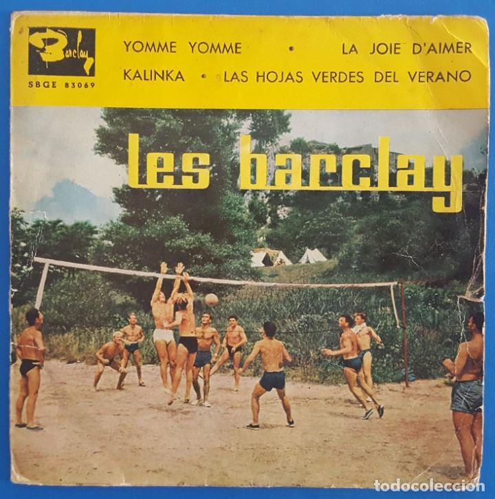 EP / LES BARCLAY / YOMME YOMME / BARCLAY SBGE 83069 / 1961 (Música - Discos de Vinilo - EPs - Pop - Rock Internacional de los 50 y 60)