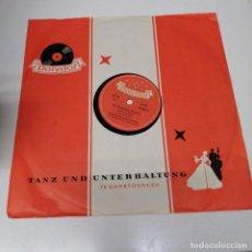 Discos de vinilo: DISCO MUSICA DE PIZARRA TANZ UND UNTERHALTUNG POLYDOR LHR KINDERLEIN KOMMET WEIHNACHTSLIED ERICH. Lote 222088736