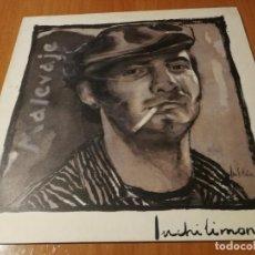Discos de vinilo: MALEVAJE (LP) INCHILIMONCHI AÑO – 1989 – HOJA CON LETRAS BUEN ESTADO. Lote 222094068