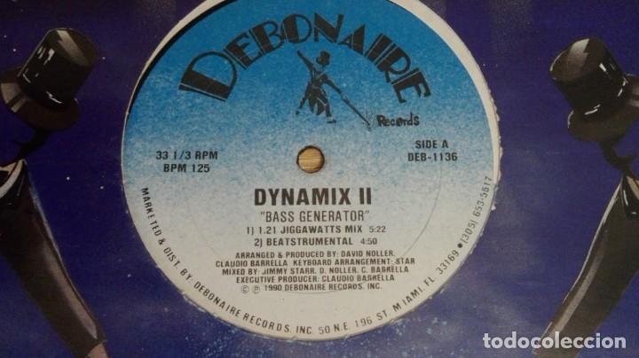 """Discos de vinilo: DYNAMIX II-BASS GENERATOR-IGNITION-VINILO 12"""" 33 RPM-DEBONAIRE-AÑO 1990-IMPORTACIÓN USA-MUY DIFÍCIL - Foto 2 - 222096158"""