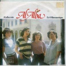 Discos de vinilo: AL ALBA / AL ALBA MIA / EN VILLAMANRIQUE (SINGLE 1980). Lote 222099727