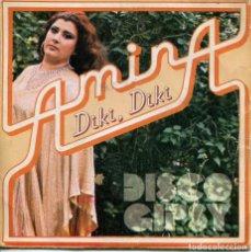 Discos de vinilo: AMINA (DISCO GIPSY) / DIKI, DIKI / AMANECIO (SINGLE 1979). Lote 222100125