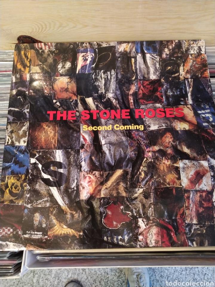 THE STONE ROSES–SECOND COMING . DOBLE LP VINILO EDICIÓN ORIGINAL DE 1994. BUEN ESTADO (Música - Discos - LP Vinilo - Pop - Rock Extranjero de los 90 a la actualidad)