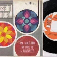Disques de vinyle: TOUSSAINT MCCALL - ONE TABLE AWAY - SINGLE DE VINILO EDICION ESPAÑOLA - SOUL. Lote 222106740