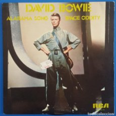 Discos de vinilo: SINGLE / DAVID BOWIE / ALABAMA SONG / SPACE ODDITY / RCA PB-9510 / 1980. Lote 222107981