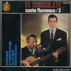Discos de vinilo: EL CHOCHOLATE (SOLO CARATULA). Lote 222111325