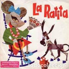 Discos de vinilo: LA RATITA - SINGLE VINILO. DISCO OBSEQUIO STARLUX 1972. Lote 222112941