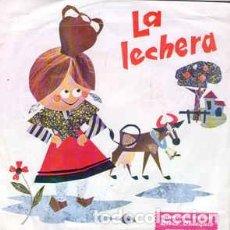 Discos de vinilo: ARSENIO CORSELLAS – LA LECHERA (CUENTO INFANTIL)- SINGLE, DISCO OBSEQUIO STARLUX 1967. Lote 222113753