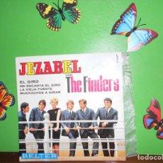 Discos de vinilo: JEZABEL CON THE FINDER'S - EL GIRO - EP. Lote 222115423