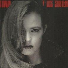 Discos de vinilo: CHRISTINA SUBTERRANEOS QUE ME PARTA UN RAYO. Lote 222120775