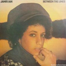 Discos de vinilo: JANIS IAN. LP. SELLO CBS. EDITADO EN ESPAÑA. AÑO 1975. Lote 222122685