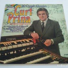 Discos de vinilo: CURT PRINA - 20 ORGEL-CLASSICS (LP, ALBUM). Lote 222124443