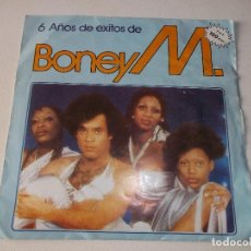 Discos de vinilo: BONEY M, 6 AÑOS DE EXITOS,RIVERS OF BABYLON,DADDY COL,. Lote 222129418