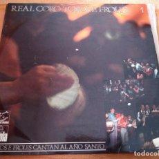 Discos de vinilo: LP REAL CORO TOXOS E FROLES 1. TOXOS E FROLES CANTAN AL AÑO SANTO.. Lote 222129458