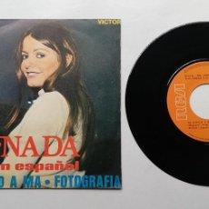"Discos de vinil: 1020- NADA EN ESPAÑOL PA DISELO A MA - VIN 7"" POR G+ DIS G+. Lote 222129543"