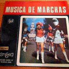 Discos de vinilo: LP MÚSICA DE MARCHAS. RCA, 1968.. Lote 222129896