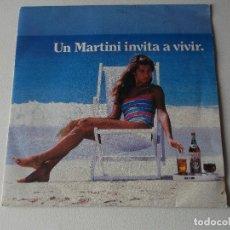 Discos de vinilo: UN MARTINI INVITA A VIVIR - STRIVE DUB - SINGLE PROMO 1984. Lote 222130555