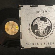 Discos de vinilo: WOMACK & WOMACK – CELEBRATE THE WORLD (THE PEOPLE UNITE REMIX). Lote 222130793