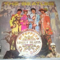 Discos de vinilo: THE BEATLES-SGT PEPPERS LONELY HEART CLUB BAND-ORIGINAL ESPAÑOL 1978. Lote 222131365