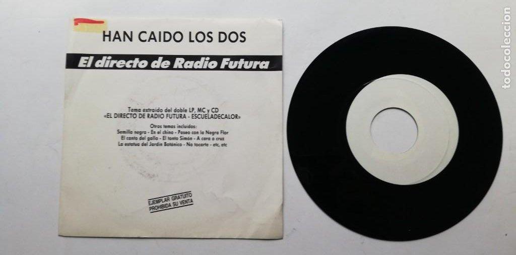 """Discos de vinilo: 1020- RADIO FUTURA HAN CAIDO LOS DOS - VIN 7"""" POR G DIS G PROMO - Foto 2 - 222132180"""