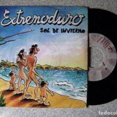 Discos de vinilo: EXTREMODURO.SOL DE INVIERNO...POR AMBAS CARAS..PROMO...EX...MUY DIFICIL. Lote 222136946