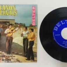"Discos de vinilo: 1020- LOS GITANOS POLINAIS - VIN 7"" POR VG DIS NM. Lote 222139267"