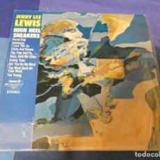 Discos de vinilo: LOTT87 LP PICKWICK USA AÑOS 70 JERRY LEE LEWIS ESTADO ACEPTABLE HIGH HEEL SNEAKERS. Lote 222139882