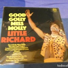 Discos de vinilo: LOTT87 LP GOOD GOLLY MISS MOLLY LITTLE RICHARD LP UK CIRCA 1973 BUEN ESTADO. Lote 222140127