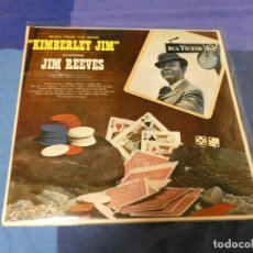Discos de vinilo: LOTT87 LP UK CIRCA 1970 JIM REEVES MUSIC FROM KIMBERLEY JIM MUY BUEN ESTADO. Lote 222140861