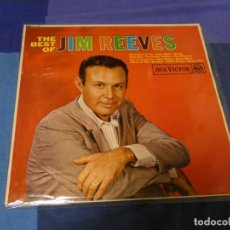 Discos de vinilo: LOTT87 LP UK CIRCA 1970 JIM REEVES BEST OF MUY BUEN ESTADO. Lote 222140941