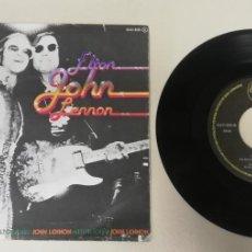 """Discos de vinilo: 1020- ELTON JOHN LENNON - VIN 7"""" POR G DIS G+ PROMO. Lote 222144580"""