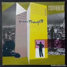 Discos de vinilo: THE SMITHEREENS - GREEN THOUGHTS - LP HOLANDES 1988 - ENIGMA. Lote 222145592