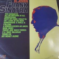 Discos de vinilo: FRANK SINATRA EL JOVEN FRANK SINATRA. Lote 222146052