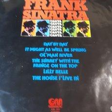 Discos de vinilo: FRANK SINATRA CANTA FRANK SINATRA. Lote 222146138