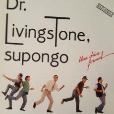 Discos de vinilo: DR. LIVINGSTONE SUPONGO - UNA CHICA FORMAL MAXI SINGLE SPAIN 1989. Lote 222146202