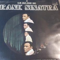 Discos de vinilo: FRANK SINATRA LO MEJOR DE FRANK SINATRA 3. Lote 222146297