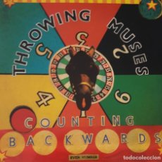Discos de vinilo: COUNTING BACKWARDS - THROWING MUSES MAXI SINGLE SPAIN 1991. Lote 222146426