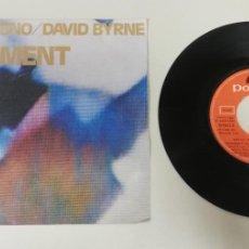 """Discos de vinilo: 1020- BRIAN ENO DAVID BYRNE REGIMENT - VIN 7"""" POR VG DIS NM. Lote 222146593"""