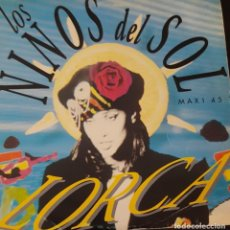 Discos de vinilo: LOS NIÑOS DEL SOL - LORCA - RITMO DE LA NOCHE MAXI SINGLE SPAIN 1991. Lote 222146958