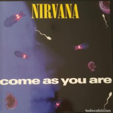Discos de vinilo: NIRVANA - COME AS YOU ARE MAXI SINGLE GERMANY 1992. Lote 222147456