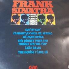Discos de vinilo: FRANK SINATRA CANTA. Lote 222147923