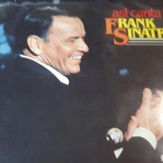 Discos de vinilo: FRANK SINATRA ASI CANTA. Lote 222148547