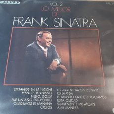 Discos de vinilo: FRANK SINATRA LO MEJOR DE FRANK SINATRA VOL.2. Lote 222152547