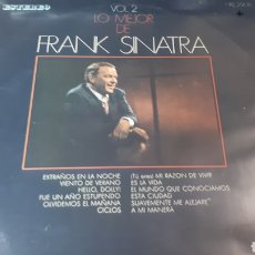 Discos de vinilo: FRANK SINATRA LO MEJOR DE FRANK SINATRA VOL.2. Lote 222152882